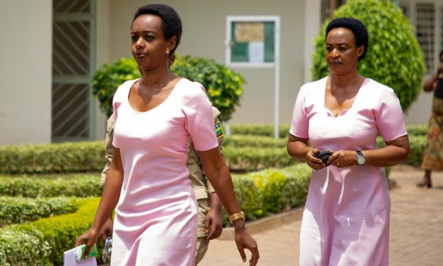 PEOPLE SALVATION MOVEMENT, WELCOMES DIANE RWIGARA