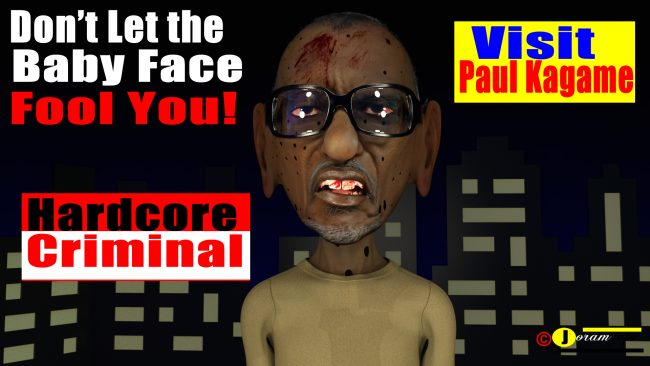 Paul Kagame Killing Machine